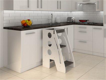 Kitchen helper kuchynský pomocník beton smile