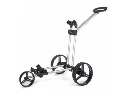 Ruční tříkolový golfový vozík FLAT-CAT silver
