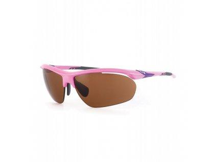 SUNDOG Golfové brýle Bolt - Brown / Pink