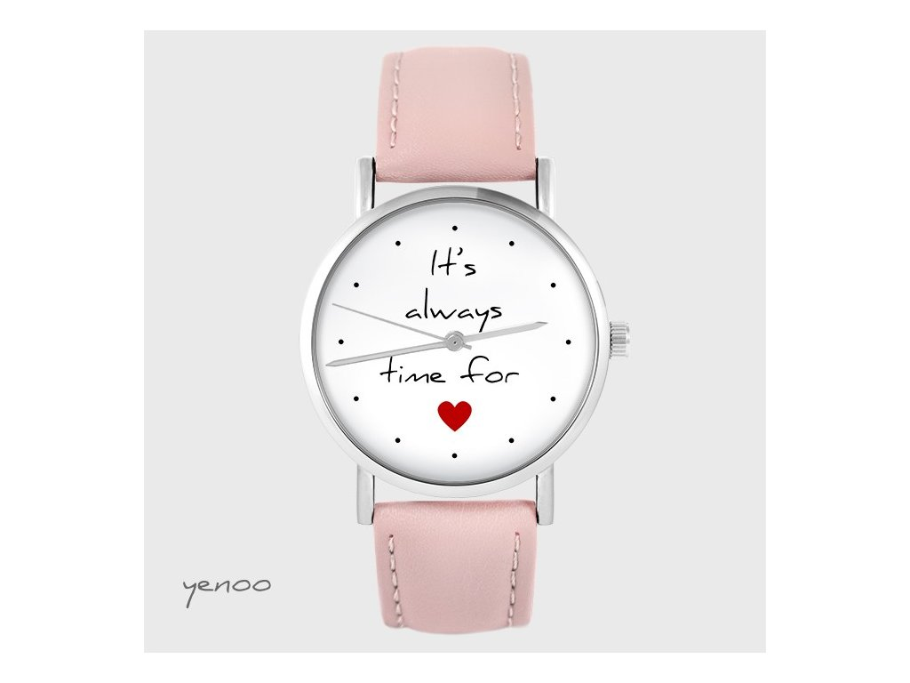 Hodinky - design It`s always time for love
