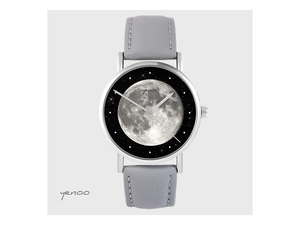 Hodinky - design Měsíc