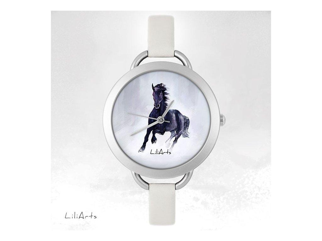Hodinky - design Černý Kůň