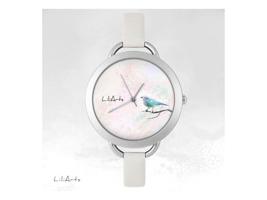 Hodinky - design Ptáček