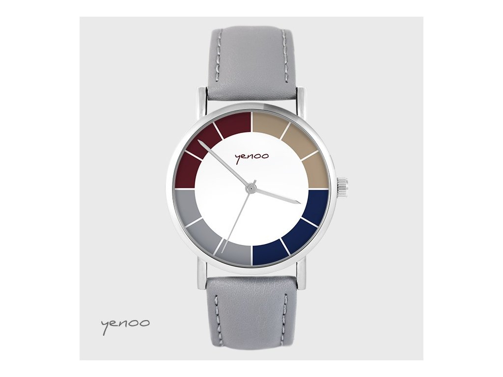 Hodinky - Design Classic, šedé