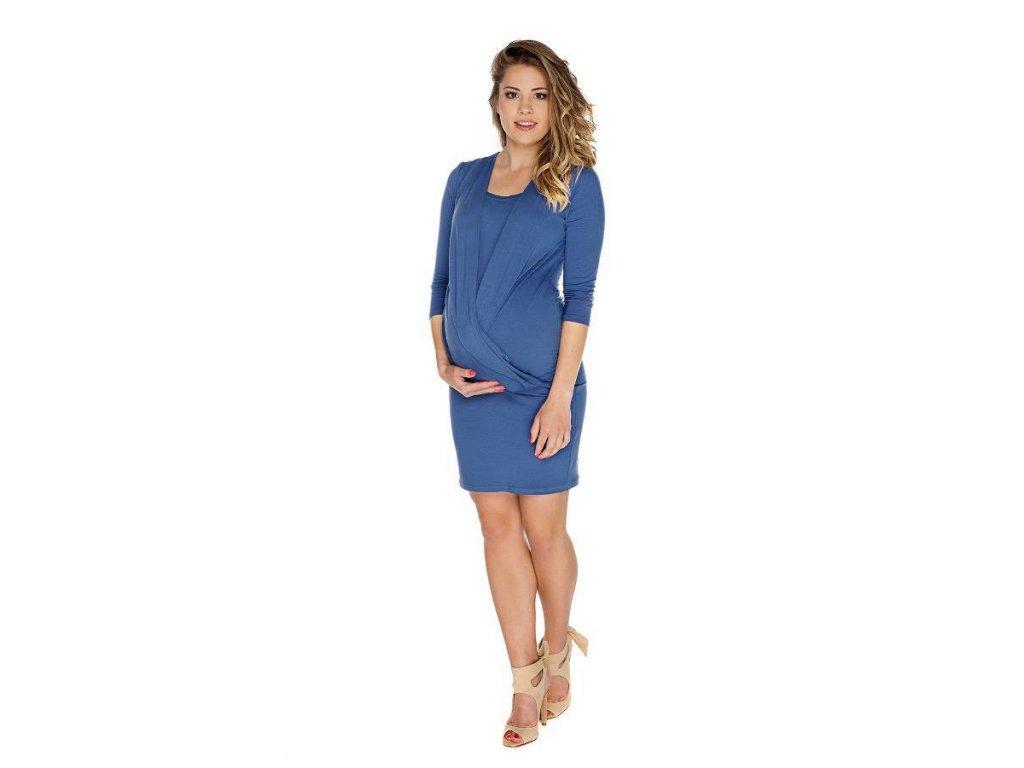 P256 Těhotenská a kojicí móda šaty Linda