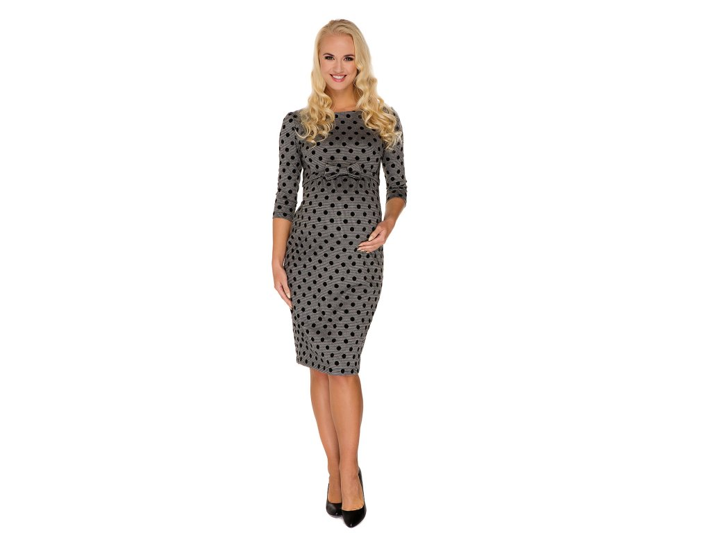 P363 Těhotenské šaty Grace My Tummy 2