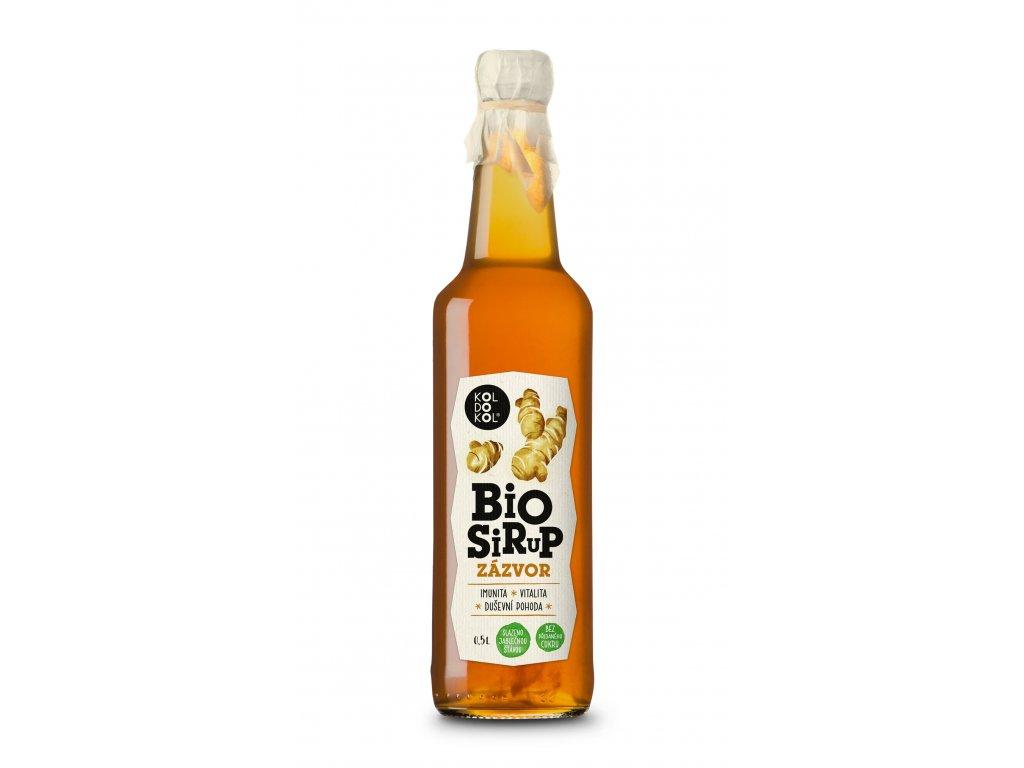 Sirup Zázvor bio 0,5 l