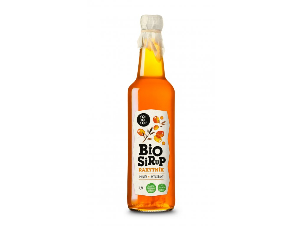 Sirup Rakytník bio 0,5 l