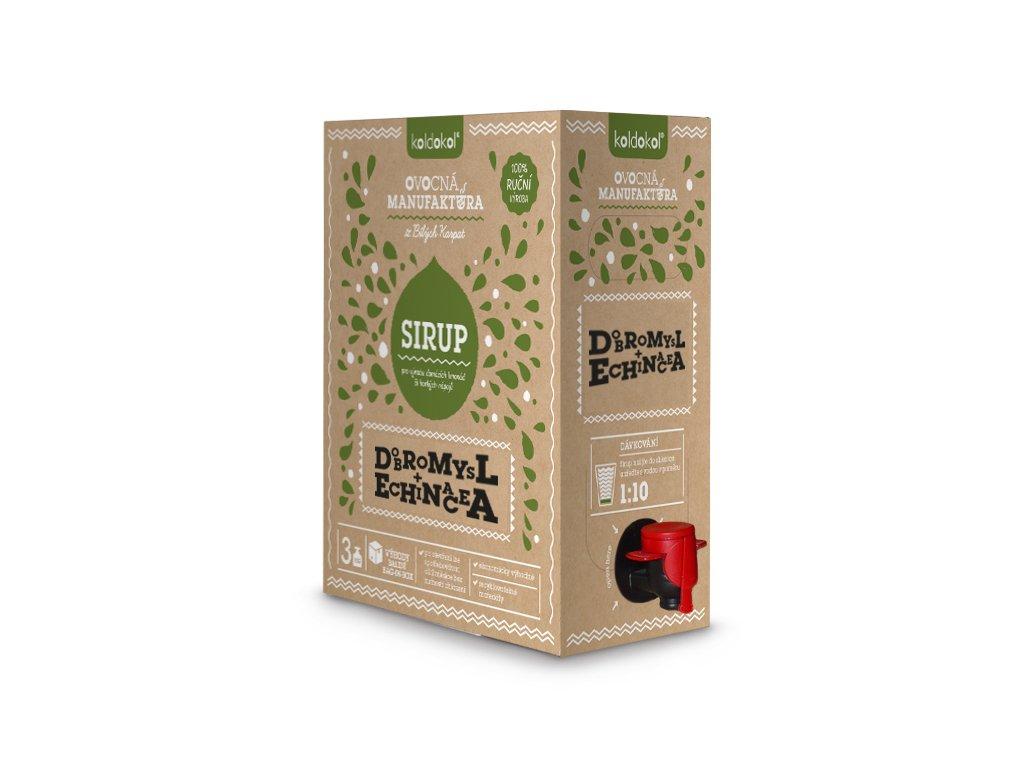 Sirup Dobromysl a Echinacea 3 kg