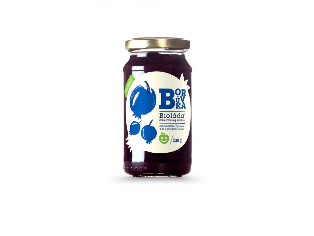 Bioláda® Borůvky 230g bio džem