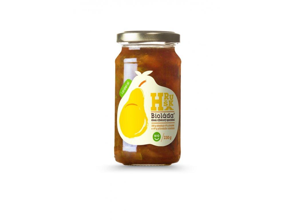 Bioláda® Hruška 230g bio džem