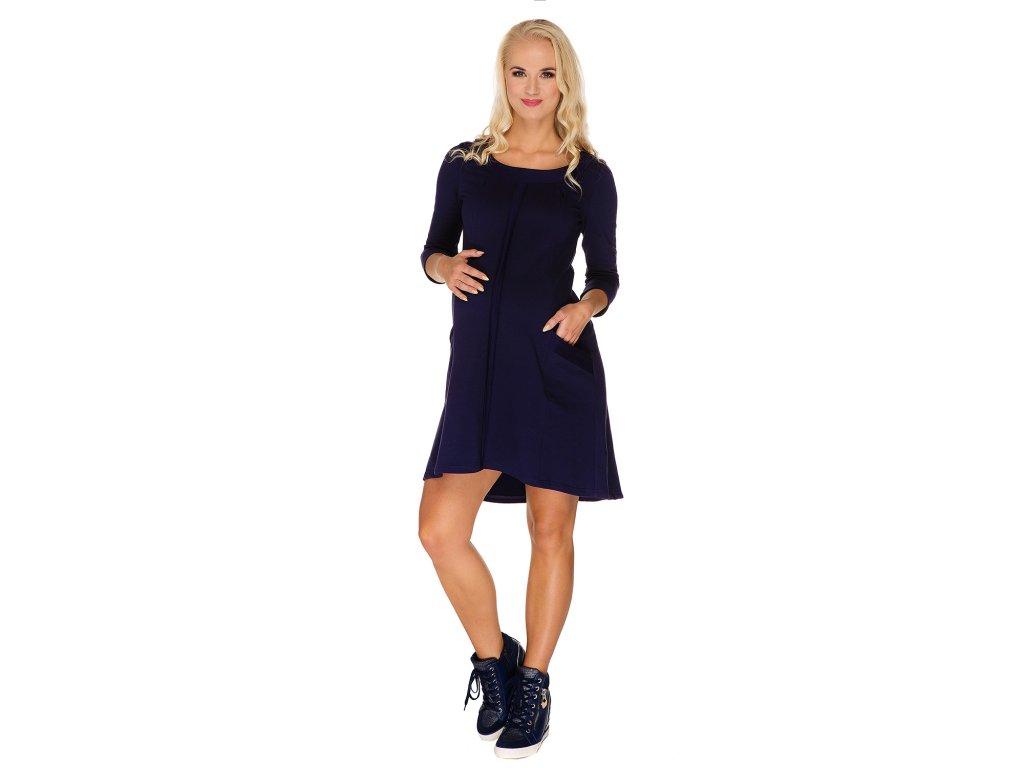Multifunkční šaty Molly tmavomodré 4