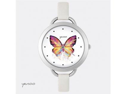 Hodinky - design Motýl