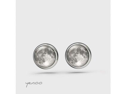 Měsíc - náušnice mini