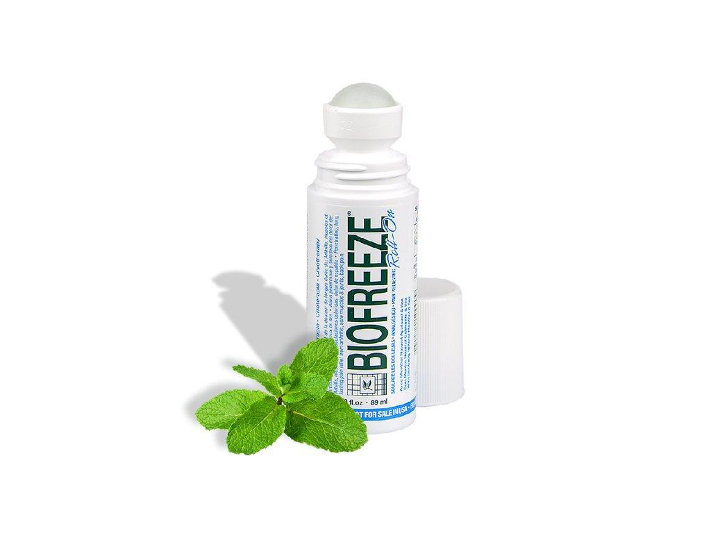 Biofreeze Roll-On - přípravek proti bolesti na bázi přírodního mentolu 89ml