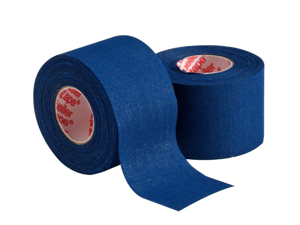 2717 mueller mtape team colors fixacni tejpovaci paska 3 8cm tmave modra