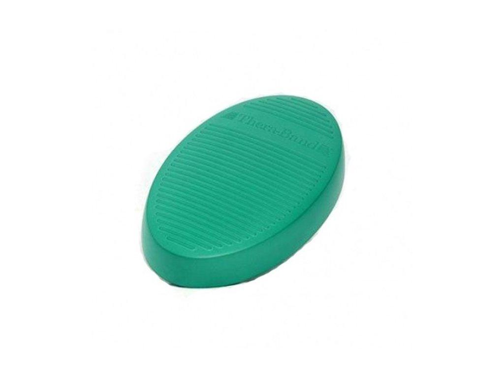 THERA-BAND balanční podložka, zelená - tvrdá