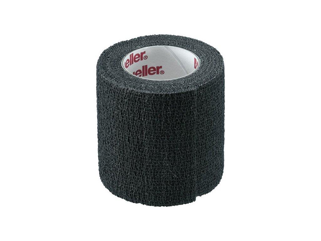 Mueller TapeWrap® Premium, před/tejpovací páska, 5cm x 5.4m, černá