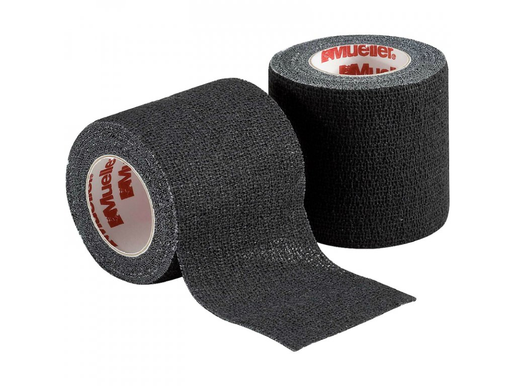 Mueller Spatting Tape™, tejpovací páska, 7.5cm x 5m, černá