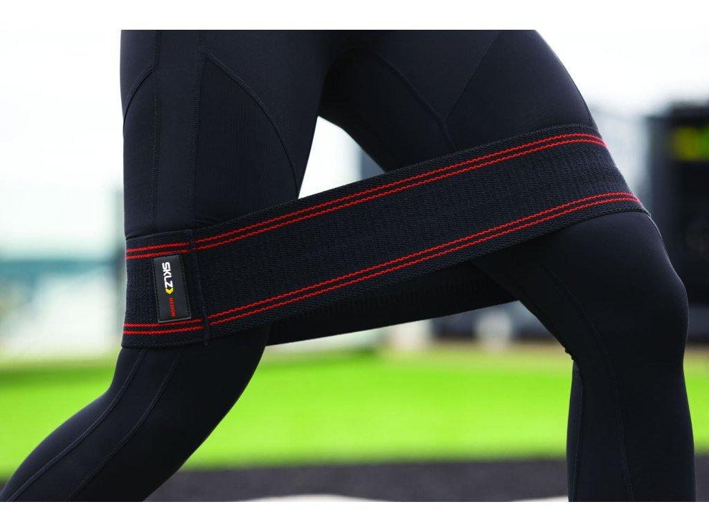SKLZ Pro Knit Hip Band Medium, textilní posilovací smyčka - 10 cm x 35 cm (střední)