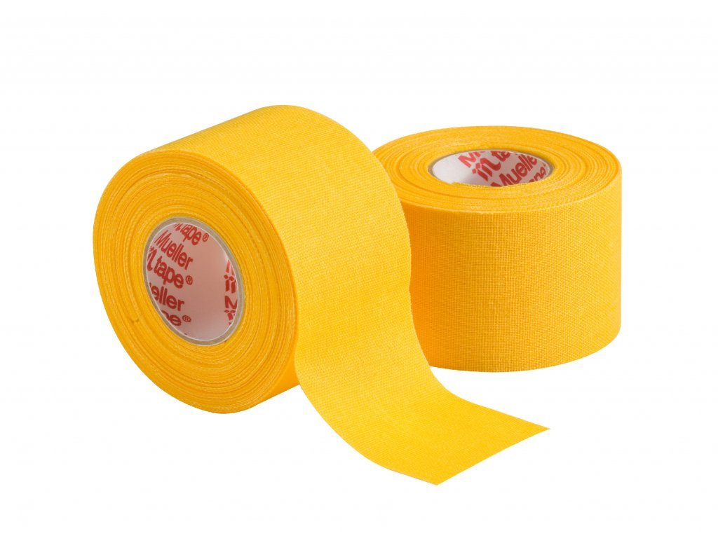 Mueller MTape® Team Colors, fixační tejpovací páska 3,8cm, žlutá