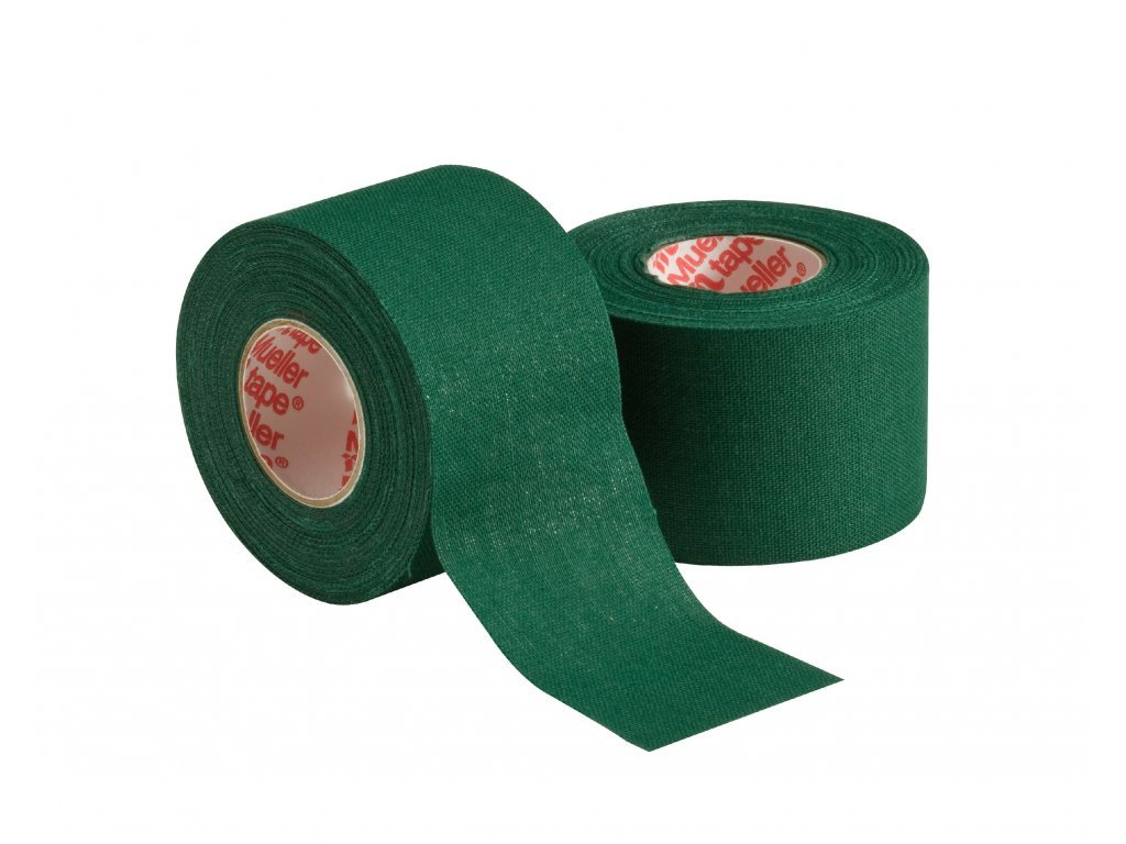 906 mueller mtape team colors fixacni tejpovaci paska 3 8cm zelena