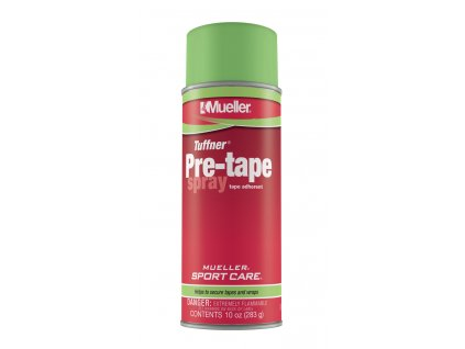 Mueller Tuffner® Pre-Tape Spray, lepidlo ve spreji, velké