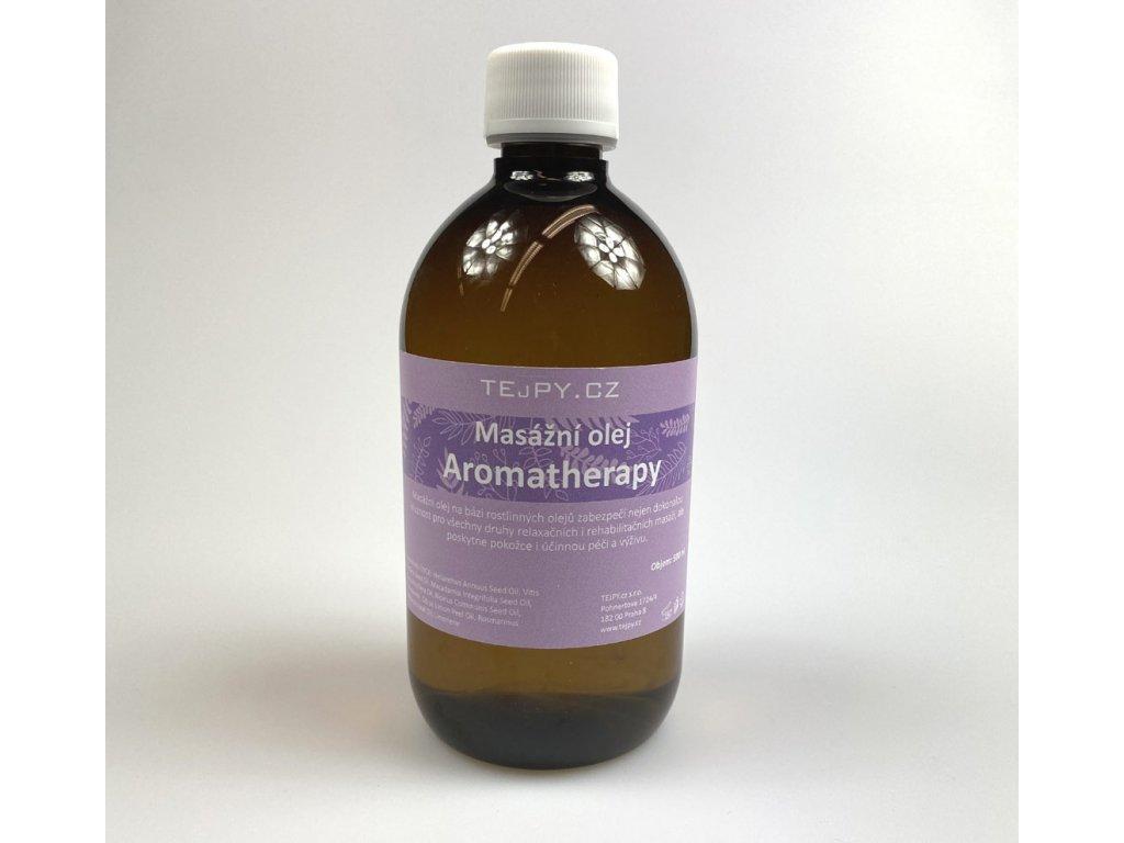 masážní olej aromatherapy