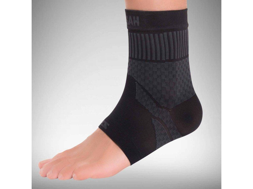 compression ankle sleeve black zensah
