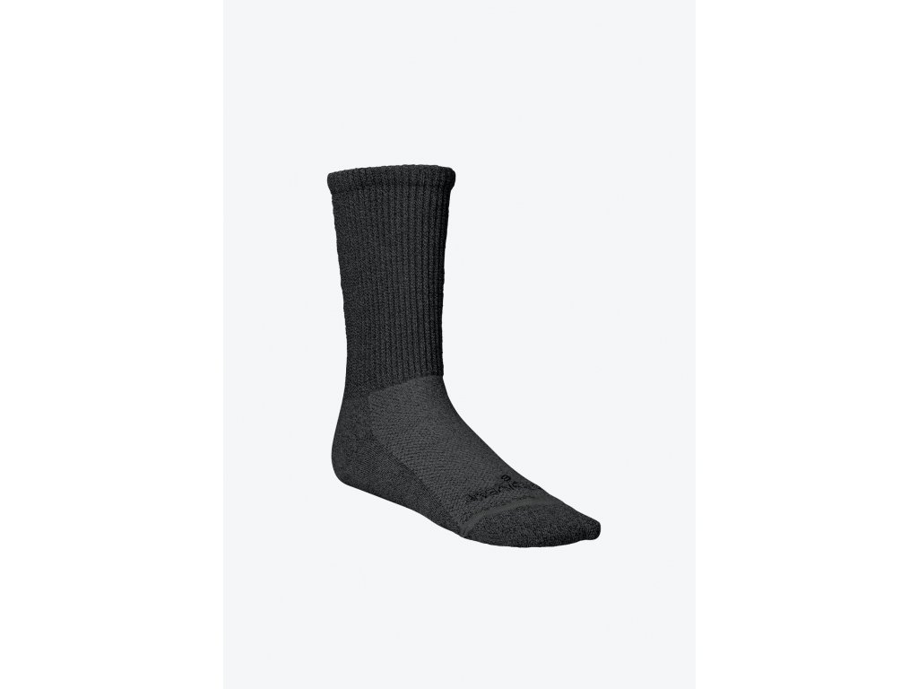 Circulation Socks Grey Ankle Crew Left
