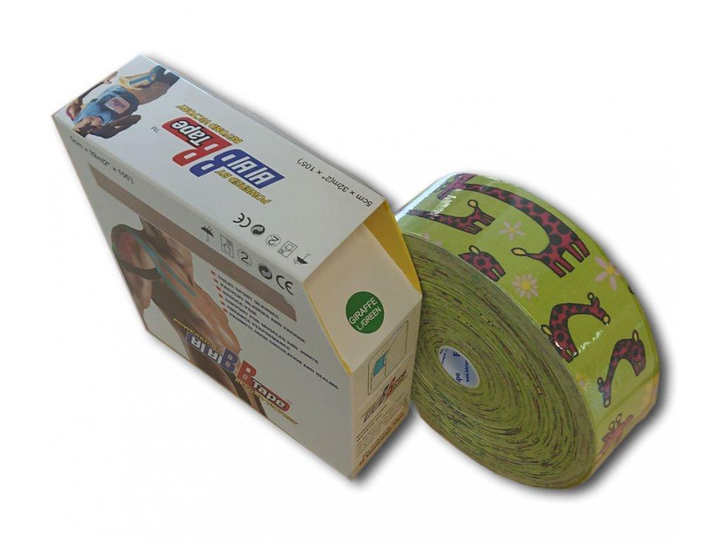 BB Tape pro citlivou pokožku s dětským designem Jumbo 32 m