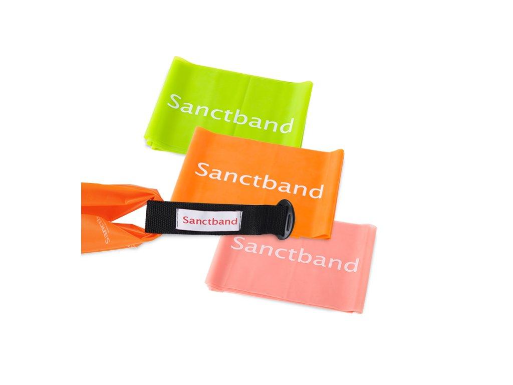 sanctband fyzio set 3 odporu s uchytkou na dvere