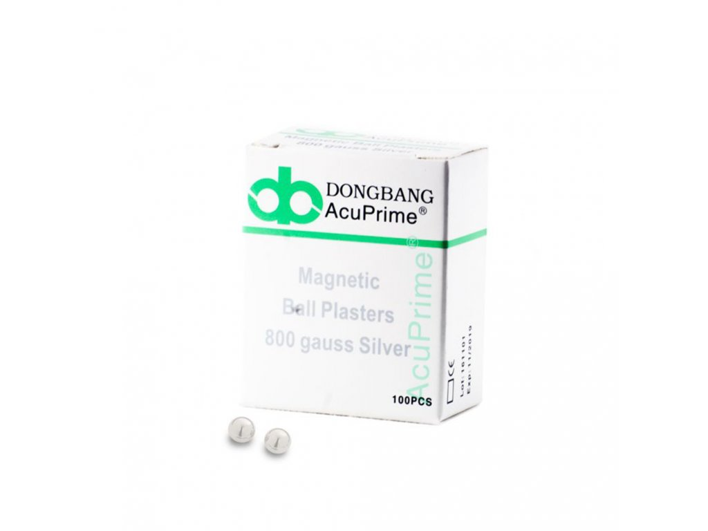 Magnetic Ball Plasters Silver Plated 100 per box1