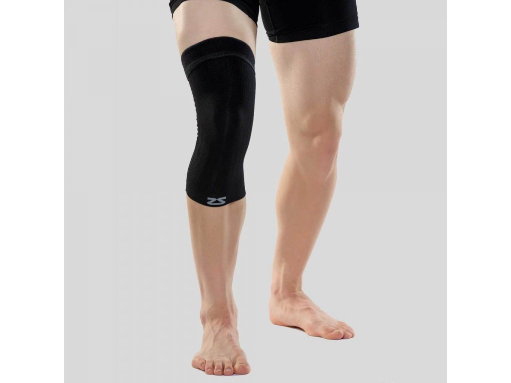 compression knee sleeve black 1024x1024