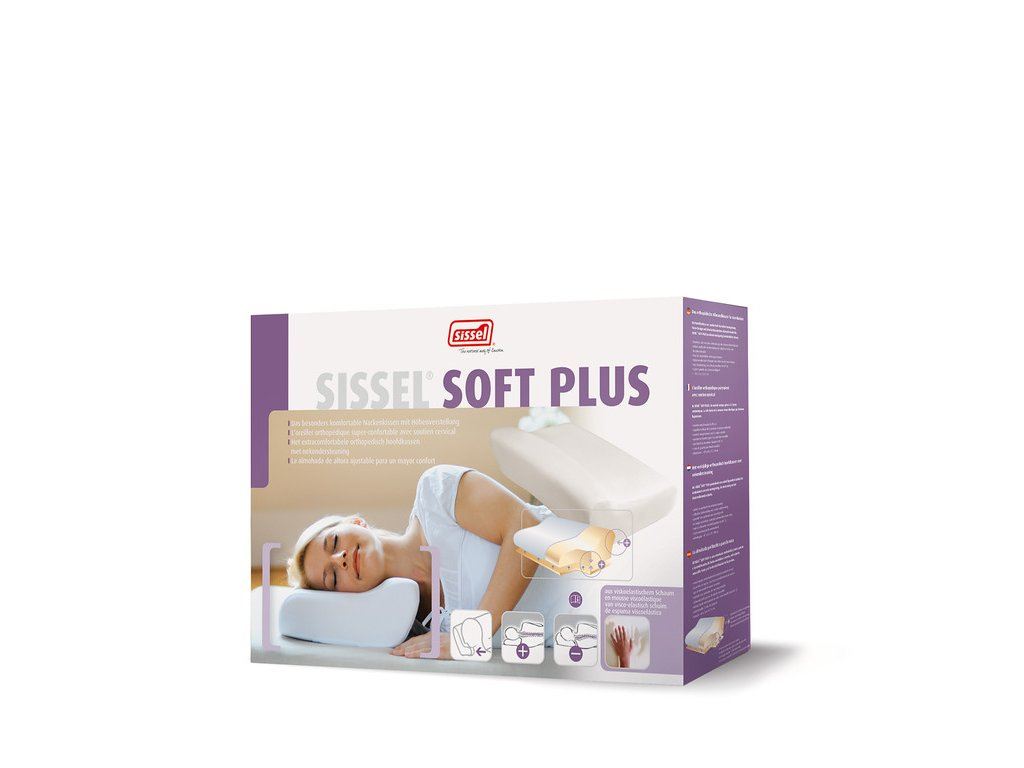 Ortopedický polštář Sissel Soft Plus