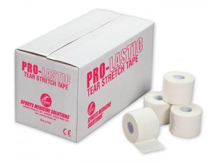 Pružná trhatelná tejpovací páska Pro-Lastic černá