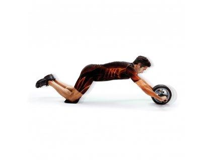 Kolo na posilování břišních svalů 2v1