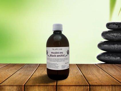Masážní olej Black orchid