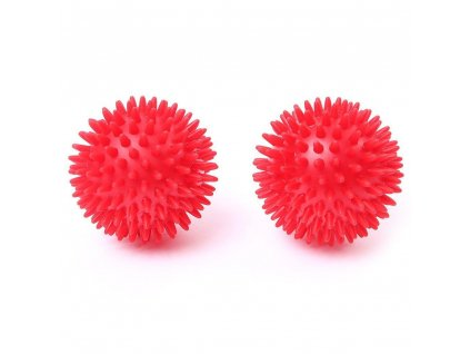 spiky balls red