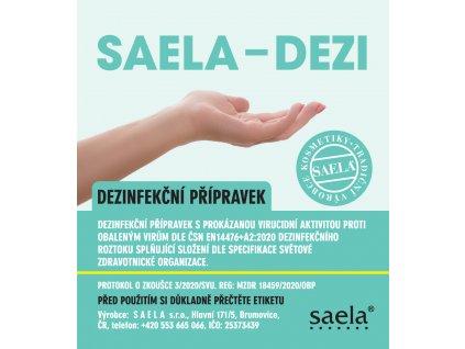 SAELA - DEZI - dezinfekce rukou