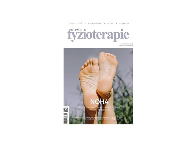 Časopis Umění fyzioterapie - č. 2 - Noha