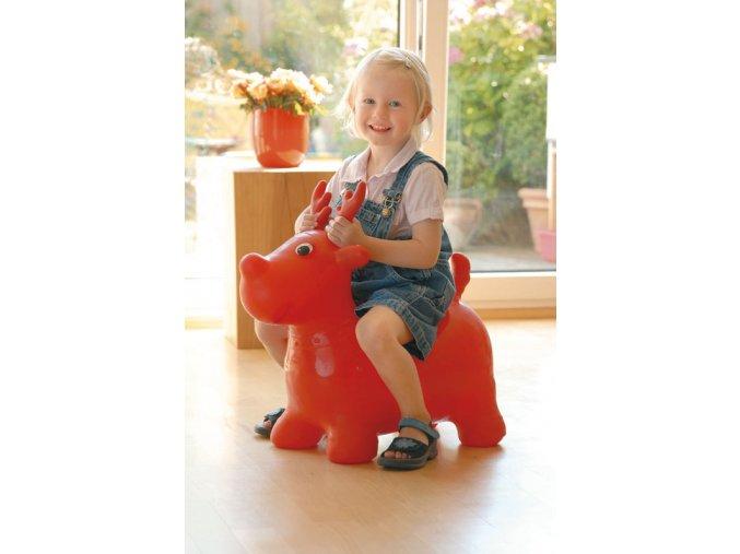 Skákadlo pro děti - Knut Bouncing Elk