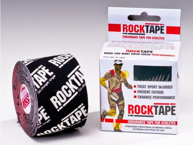 Kineziologický tejp RockTape Black Logo