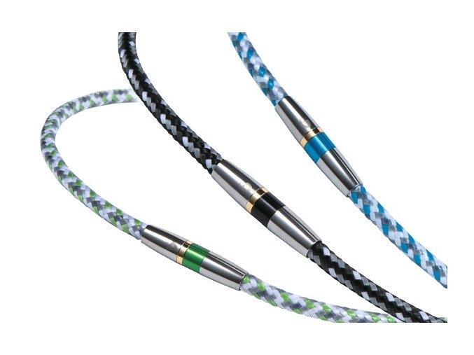 Náhrdelník Phiten Rakuwa X50 High-End III 50 cm