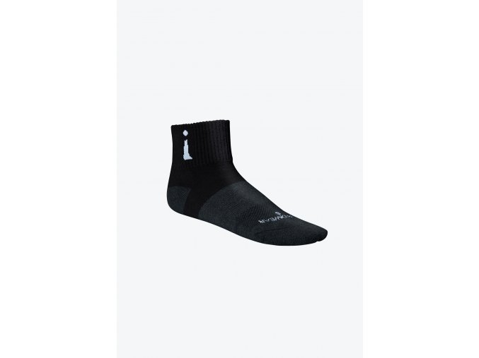 Active Sock Black Quarter left