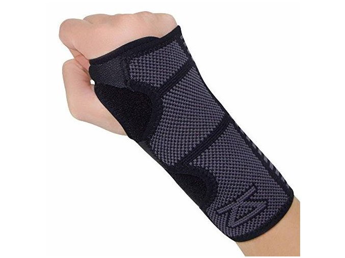 Compression wrist suport sleeve black alt1 website compact