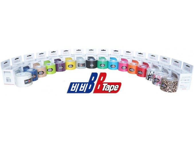 Kineziologický tejp BB Tape 3,75 cm