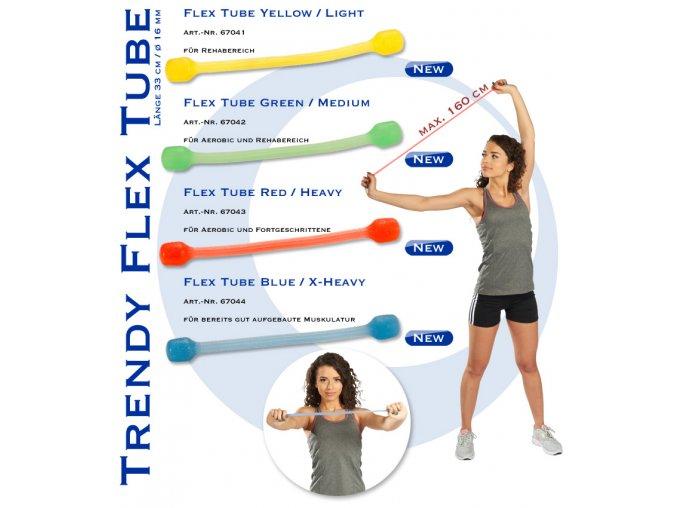 Cvičební guma Flex Tube