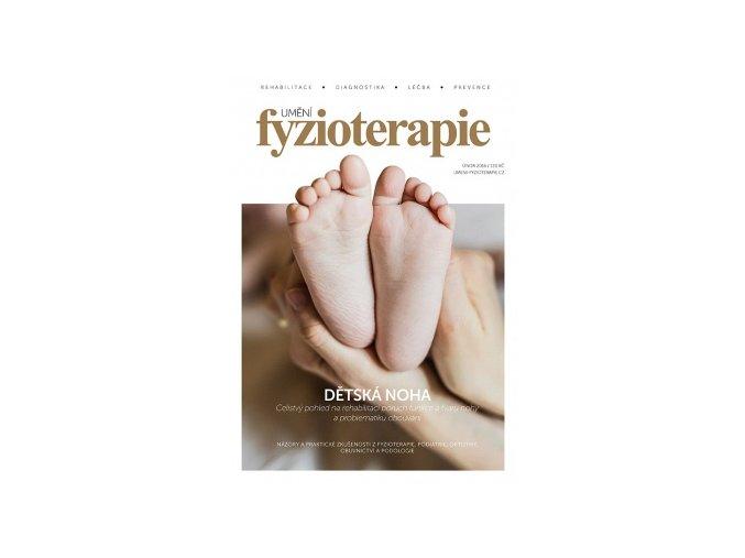 Časopis Umění fyzioterapie - č. 1 - dětská noha