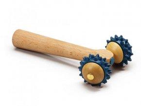 Dvojitý masážní váleček T-Roller